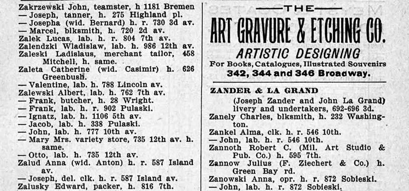 1895 Milwaukee City Directory