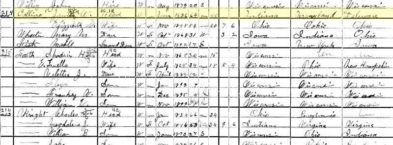 1900 US Census