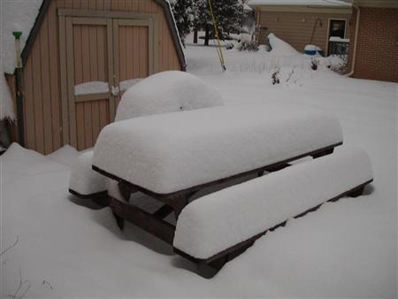 Snow on the Table