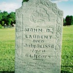 Tombstone Tuesday: John Laurent