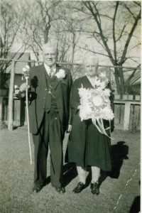 Joseph Troka and his wife, Clara.