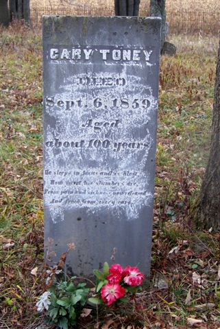 Carey Toney -  Headstone