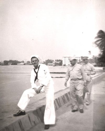 Richard Zalewski, Waikiki Beach, October 1944