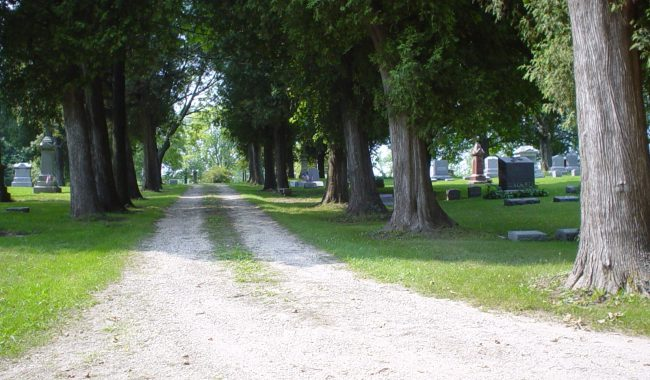 St. Francis Borgia Cemetery, Cedarburg, Ozaukee, Wisconsin
